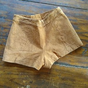 Forever 21 Shorts - Suede-like Shorts